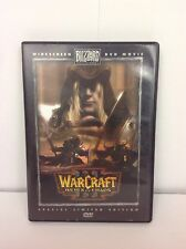 WarCraft III: Reign of Chaos Widescreen Special Limited Edition DVD Rare