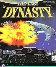 The Last Dynasty PC Space Strategy Simulation adventure game CDs #