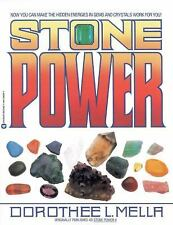 Stone Power by Dorothee L. Mella (1988, Paperback)