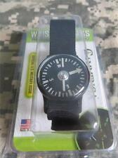 NEW - CAMMENGA PHOSPHORESCENT WRIST COMPASS - BLACK - TACTICAL STRAP - FEB. 2017