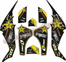 SUZUKI LTZ400 STICKER KIT Rock/ DECALS / GRAPHIC KIT / LTZ400 / QUAD STICKERS