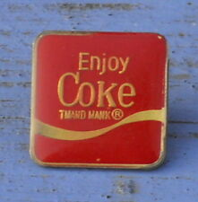 Pin's Enjoy Coke, Coca Cola, début des années 1990