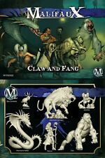 Malifaux Arcanists The Claw and Fang Marcus box plastic Wyrd miniatures