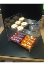 Cake Bun Gum Chocolate Sweet Display Unit Stand Acrylic Perspex