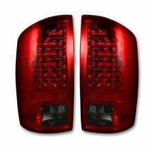 RECON 264179RD Dodge RAM 94-16 Red-Red Tail Lights LED