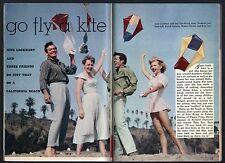 1958 TV GUIDE~ROBERT HORTON~AL TURK~JOHN PERRY~DAVID JANSSEN~SKY KING~KITES