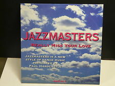"MAXI 12"" PROMO JAZZMASTERS Really miss your love PAUL HARDCASTLE 2530"