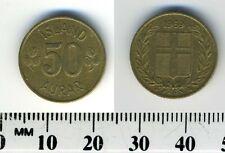 Iceland 1969 - 50 Aurar Nickel-Brass Coin