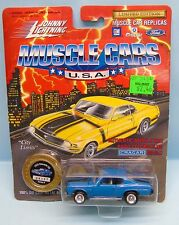 19159 JOHNNY LIGHTNING / MUSCLE CARS REPLICAS  / 1970 CHEVELLE SS BLEU 1/64