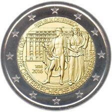 2 euro commemorativa AUSTRIA 2016 FDC DA ROTOLINO