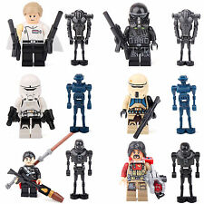 Rogue One Star Wars Story Chirrut Imwe K250 Orson 12 Minifigures building lEGO