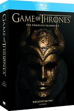 Game of Thrones - Seasons 1 2 3 4 5 Complete Series Blu-ray Set Region Free NEW