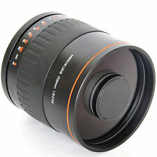 900mm f/8 Mirror Lens T2 Telephoto LENS +T2 Mount for Olympus M4/3 DSLR Camera