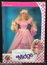 WEDDING DAY MIDGE BARBIE BRIDESMAID BARBIE'S BEST FRIEND IS GETTING MARRIED NRFB