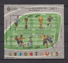 s7337) URUGUAY 1996 MNH** WC Football'98 - CM Calcio S/S IMPERF