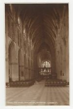The Nave Worcester Cathedral, Judges 16862 Postcard, A880