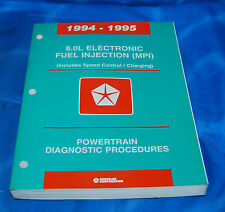 1994-95 Dodge Ram Truck 8.0 Powertain Diagnostic Procedures Service Manual