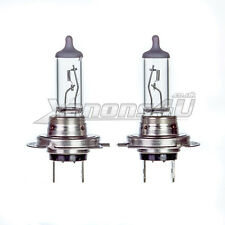 2x H7 CLEAR GLASS HALOGEN HEADLIGHT LAMPS LIGHT BULBS 55W 12V 3800K E MARK