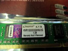 Kingston 2GB KVR1333D3S8N9/2G 1.5v Memory