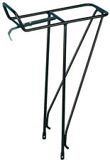 Bor Yueh Alloy Front Carrier Bicycle Rack - BLACK - fit rack bags and panniers