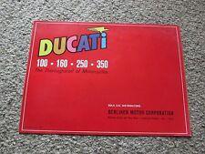 DUCATI 100 160 250 350 SEBRING MARK # MONZA CADET SCRAMBLER BROCHURE PINUP