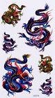Tatouage Temporaire Dragon 6 Stickers