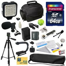 Canon Advanced Accessories Kit for VIXIA HF R52 HFR52 R50 HFR50 R500 HFR500
