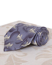 BNWT The House of Silk Tie with Dove Design
