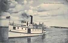 Newcastle New Brunswick Canada Steamer Alexandria Antique Postcard J45618