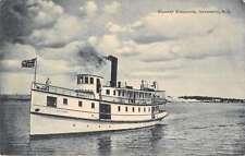 Newcastle New Brunswick Canada Steamer Alexandria Antique Postcard J45618