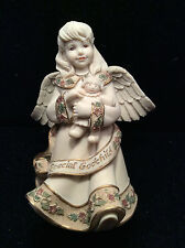 "NEW ""Special Godchild"" Cast Resin Angel from Sarah's Angels"