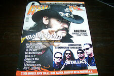 METAL HAMMER MAGAZINE 9/2008 MOTORHEAD DARKTHRONE JUDAS PRIEST SLIPKNOT