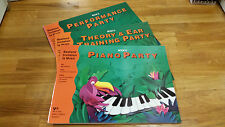 Bastien's Invitation to Music - Party Pack D (3 books in 1)