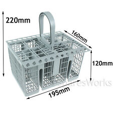 8 Compartment Cutlery Basket Holder Spoon Rack for BOSCH NEFF SIEMENS Dishwasher