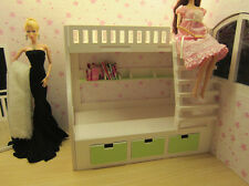 Doll Furniture Bunk Beds With Beding~ 1/4 Scale