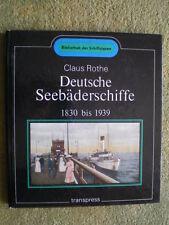 Deutsche Seebäderschiffe 1830 bis 1939 - DDR Buch Schiffahrt Ausflugsdampfer