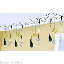 12ft New Year Cheers Celebration Party Hanging Ceiling Banner Decoration