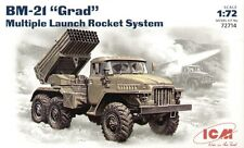 ICM 1/72 BM-21 Grad Multiple Launch Rocket System # 72714