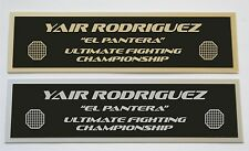 Yair Rodriguez UFC nameplate for signed mma gloves photo or case