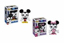 Set of 2 Funko POP Disney Mickey Mouse & Minnie Mouse Vinyl Figure pop