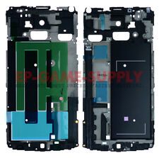 LCD Frame Metal Housing For Samsung Galaxy Note 4 N910V Verizon White Grill USA!