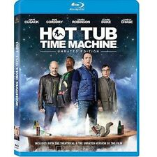 Hot Tub Time Machine UNRATED Blu-ray Disc, 2011 NEW