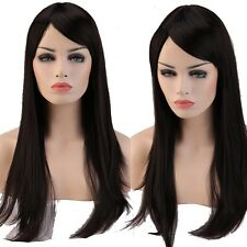 Synthetic Hair Wig Curly Straight Costume Party Fancy Dress Natural Look Thick 2