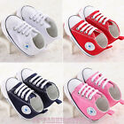 HOT Sneakers Newborn Baby Crib Shoes Prewalker Boys Girl Infant Toddler Soft AU