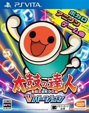 USED PS VITA Taiko no Tatsujin V Version Drum Master Japan Import Official SONY