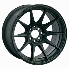 XXR 527 19X9.75 Rims 5x114.3mm +15 Black Wheels Fits Honda Accord 2008-2012