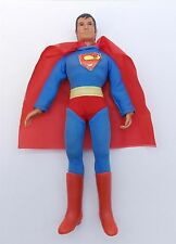 Vintage SUPERMAN Action Figure MEGO Dated 1974 With Cape and Boots WGSH