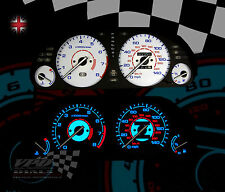 Rover 600 140mph speedo dashboard lighting white dial interior upgrade kit