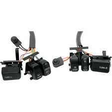 Black Stock Handlebar Switches for 1996-2013 Harley Touring Softail Dyna XL