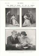 1906 Siamese Princess Royalty And Bloomers George Alexander Irene Vanbrugh